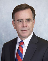 Photo of named IMRF Executive Director Brian Collins