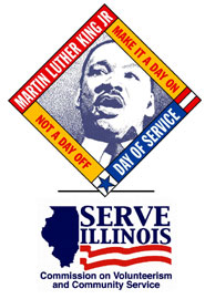 Martin Luther King Day Logo