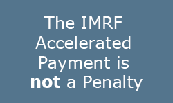 The Accelerated Payment is not a Penalty