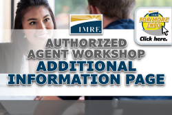 Authorized Agent Workshop Webinar Additional Information