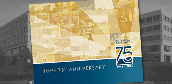 IMRF's 75th Anniversary Booklet